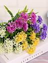 1 Une succursale Plastique Hortensias Fleur de Table Fleurs artificielles 32*32*33