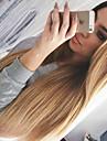 två ton ombre T1B / 27 # malaysiska jungfru hår spets front peruker silkeslen rakt hår 130% densitet människohår spetsar peruker för svart