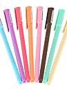 stylos gel 8 couleurs d\'encre de 0.35mm 1 jeu de 8 pcs