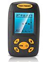Detecteur de Poissons Etanche LED Autre LCD LED verte Avec fil 4×AAA Plastique dur Alose jaune