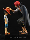 Anime Actionfigurer Inspirerad av One Piece Monkey D. Luffy PVC 18 CM Modell Leksaker Dockleksak