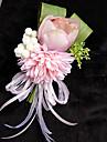Flori de Nuntă Formă liberă Crini Bujori Butoniere Nuntă Petrecere / Seară Satin