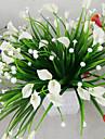 1 Une succursale Plastique Calla Lily Fleur de Table Fleurs artificielles 2*5