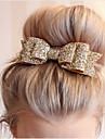 Uniquement sur Cheveux Secs Decoration Noeud Normal