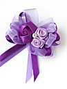 Flori de Nuntă Formă liberă Trandafiri Butoniere Nuntă Petrecere / Seară Satin