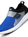 Bărbați Adidași Primăvară Vară Toamnă Tălpi cu Lumini Tul Outdoor Casual Atletic Toc Plat Albastru Închis Gri Albastru Alergare