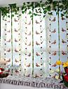 Un Panneau Le traitement de fenetre Neoclassique Europeen Designer Salle de sejour Polyester Materiel Rideaux opaquesDecoration