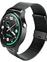 sport chic frequence cardiaque en temps reel de la vie montre etanche surveillance montre-bracelet de montre en acier inoxydable mtk2502