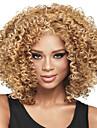 Perruques synthetiques a la mode et a la couleur blonde pour femmes europeennes et afro