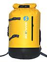 30L L Vätskepaket och väska Camping Klättring Simmning Strand Resa Snösport Utomhus Vattentät Flyter Bärbar Kompakt Gul Svart PVC MARJAQE®