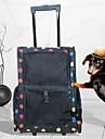 Chien Sac de transport Animaux de Compagnie Transporteur Portable Respirable Couleur Pleine Noir Fuchsia Rouge Bleu Rose