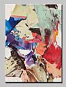 Pictat manual Abstract Pop Vertical,Modern Stil European Un Panou Canava Hang-pictate pictură în ulei For Pagina de decorare