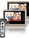 mountainone Kit sistema videocitofonico campanello del citofono 1-macchina fotografica di visione notturna 2-monitor da 7 pollici