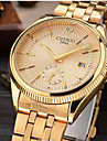 CHENXI® Bărbați Ceas Elegant Ceas La Modă Ceas de Mână Simulat Diamant Ceas Japoneză Quartz Calendar imitație de diamant Aliaj Bandă