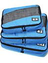 Sac de Voyage Pliable Portable Durable Grande Capacite pour Rangement de Voyage Accessoire de Bagage Tissu Tissu en tulle Polyester-Noir