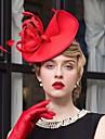 Pană Material Textil Diadema-Nuntă Ocazie specială Informal Pălărioare Pălării/Căciuli 1 Bucată