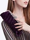 Femme Satin Soiree / Fete / Mariage Sac de soiree Beige / Rose / Violet / Bleu / Or / Argent / Noir