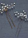 Perle Cristal Diadema-Nuntă Ocazie specială Ac de Păr Εργαλείο μαλλιών 2 Piese