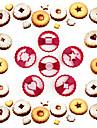 coacere Mold Inimă Floare Αστέρι tort pentru Cookie Plastic DIY Calitate superioară Nelipicios