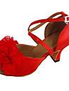 Chaussures de danse(Talon Personnalise-Satin-Latines