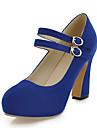 Femme-Habille Soiree & Evenement--Gros Talon-club de Chaussures-Chaussures a Talons-Similicuir