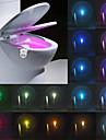 Ywxlight® ip65 16 culori mișcare activată toaletă lumină de noapte se potrivesc oricărei toaletă-apă rezistentă la apă lumină de noapte