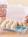 1pcs 15 blanc cuisine refrigerateur oeufs boite de rangement porte boite de preservation plastique portable mettre oeufs boite maison