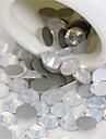 50pcs 2mm oeufs blanc bijoux ongles art decoration