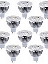 5.5W GU5.3(MR16) Spot LED MR16 4 LED Haute Puissance 600 lm Blanc Chaud Blanc Froid Decorative DC 12 V 10 pieces