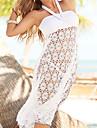 Femei De Acoperit Femei Bustieră Solid O - piesă Polyester