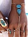Pentru femei Ring Bracelets La modă Bohemia Stil Reșină Aliaj Picătură Bijuterii Pentru Petrecere 1 buc