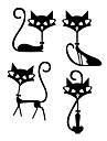 Bande dessinee Nourriture Forme Stickers muraux Autocollants avion Autocollants muraux decoratifs,Vinyle Materiel Decoration d\'interieur
