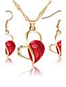Pentru femei Seturi de bijuterii Pandative Seturi de bijuterii de mireasă Zirconiu CubicLa modă Adorabil Euramerican stil minimalist