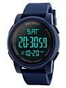 Bărbați Ceas Sport Ceas de Mână Ceas digital Chineză Piloane de Menținut CarneaLCD Calendar Rezistent la Apă Zone Duale de Timp alarmă