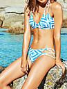 Dame Polyester Bustieră,Bikini Solid Solid