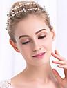 Perle Cristal Diadema-Nuntă Ocazie specială Cordeluțe Lănțișor de cap 1 Bucată