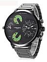 Bărbați Adulți Ceas Sport Ceas Elegant Ceas La Modă Unic Creative ceas Ceas de Mână Chineză Quartz Calendar Rezistent la ApăOțel