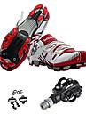 Chaussures de Cyclisme avec Pedale & Fixation Sports Vetements de Plein Air Cyclotourisme Cyclisme