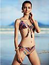 Femei Bikini Femei Cu Susținere Floral Fără Întăritură / Sutiene cu Bureți Nailon