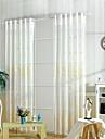 Tratamentul fereastră Floare Pastoral , Brodată Sufragerie Material Sheer Perdele Shades Pagina de decorare For Fereastră