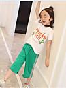 Fete Seturi Imprimeu Bumbac Vară Set Îmbrăcăminte