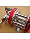 Reel Fishing Roulement Moulinet bait casting 5:1 8.0 Roulements a billes Echangeable Peche en mer Peche a la mouche Peche d\'eau douce