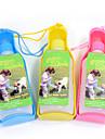 Pisici Câine Boluri & Sticle de Apă Animale de Companie  Castroane & Hrănirea Portabil Galben Albastru Roz
