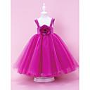Lanting nevěsta ® alfa-line / plesové šaty / kněžna podlahy Délka květin šaty - satén / tyl bez rukávů square