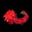 Ženy Satén Imitace perly Papír Přílba-Svatba Zvláštní příležitost Čelenky Květiny