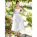KAITLYN - Kleid für die Braut aus Tafft