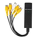 4 channel usb 2.0 dvr cattura video sistema di sorveglianza
