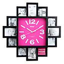 zidni sat s modnim dizajnom okvira za slike funkcija