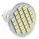 4W GU10 LED bodovky MR16 27 SMD 5050 300 lm Přirozená bílá V