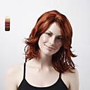 使用可能なキャップレスロング高品質な合成巻き毛のかつら、複数の色